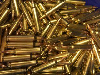 5.56 FMJ 55gr 3160 FPS 500 RDS Bulk Ammunition